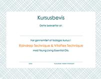 OneDrop Certificate