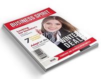 Business Spirit Newsletter Magazine - 32 Pages