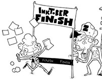 InkTober Part 3! Finish!!!