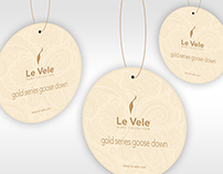 Le Vele Gold Goose Down Quilt Packaging