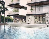 Villa 3D visualization
