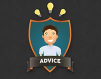 Advice Soccer Team Logo