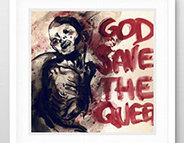 Poster, god save the queen