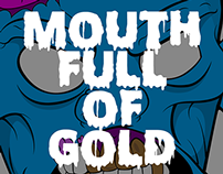 Mouth Full of Gold | Vector