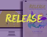 Release 2014 Graphic Design Graduate Exhibition Concept