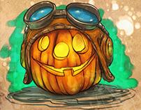 Halloween art!