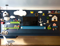 Mural for The Ronald McDonald House of Long Island