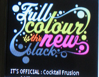 Cocktail Frusion Rox Brutal Fruit - the Flashmob !