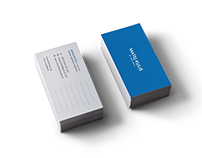 Business cards for a dentist