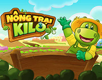 kiLo Farm game -  graphic for old gameplay