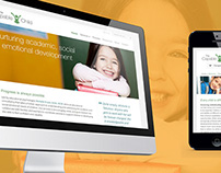 The Capable Child Responsive Website