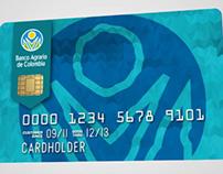 Animación Tarjetas de Crédito Banco Agrario de Colombia