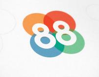 Corporate & Brand Identity - Editora 88 - Brazil