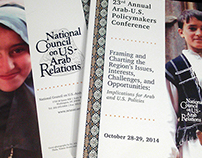 CONFERENCE BOOKLET: Arab-U.S. Policymakers Conference