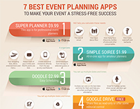Party Planning Apps Infographics