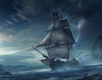 Pirates of the Caribbean_Fan-art