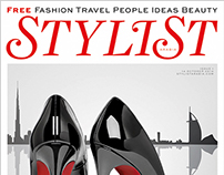 Frisian post production for the cover of Stylist Arabia