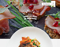Restaurant page - Long page