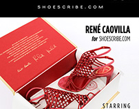RENÉ CAOVILLA  for SHOESCRIBE.COM