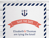 Sailor Save The Date