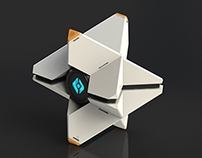 Fully 3D Printable Destiny Ghost