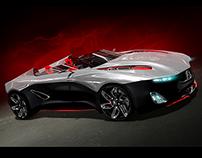 Peugeot R-X Concept Model