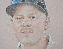 Young Adult Portraits - Pastel & Pencil