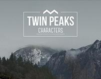 TWIN PEAKS /characters