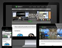 SIGNET Company Responsive Website