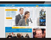 UCLA Law Website Re-Design