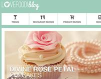 Branding and Blog UI Design