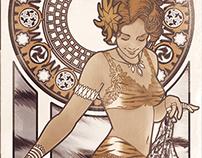 Art Nouveau Sauvage :: Wild Girls Nouveau