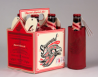 Skyward Beer Branding
