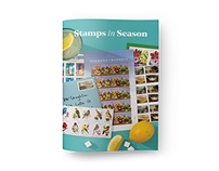 USPS Stamps in Season