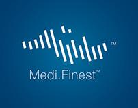 Brand identity design for Medifinest