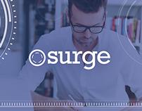 SURGE: Digital Writing Education Program // Branding