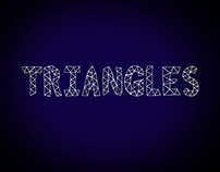 Triangles   Typeface