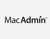 Logo concept, MacAdmin (2009)