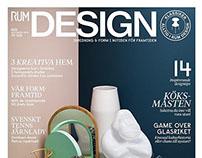 Niklas Alm - Cover, Editorial for Rum Design