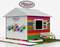 diamond paints stall