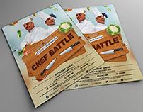 chef battle flyer
