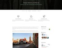 Treeson free Responsive WordPress Theme by myThem.es