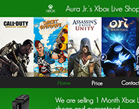 Xbox Inspired Design