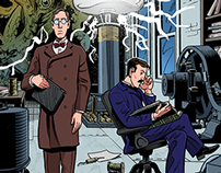 """Herald: Lovecraft & Tesla"" #2 preview pages"