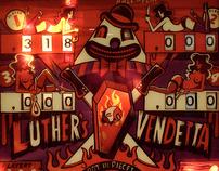 Luther's Vendetta - A Custom Pinball Machine