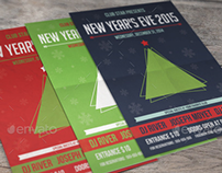Hipster New Year Flyer