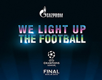 We light up the football | Gazprom