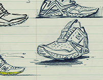 New Balance Sketch Book