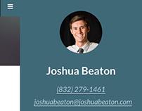 Professional Profile for Joshua Beaton