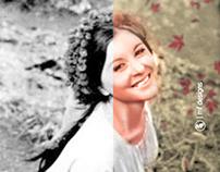 Cinderella - Colorizing & Retouching